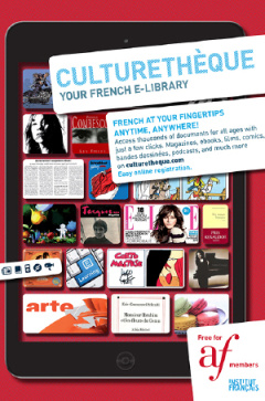 Free access to a French e-library