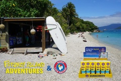 Marine Friendly Sunscreen​ for sale on our tour