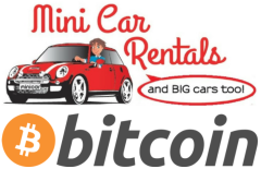 Mini Car Rentals now accepts #Bitcoin as an additional payment method.