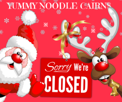 Our restaurant will be closed from Sunday, 25 Dec until Thursday, 18 Jan