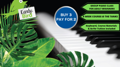 3 Piano Courses for the price of 2!