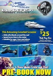**NEW** Snorkel Scooters now available onboard