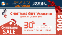 BEST 2018 TNQ CHRISTMAS GIFT IDEAS CAMPAIGN!