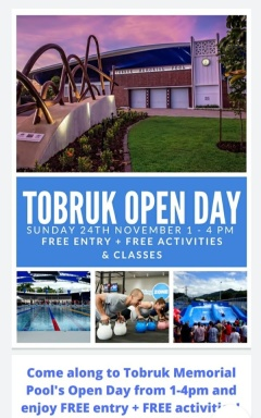 OPEN DAY - Come & Try it all