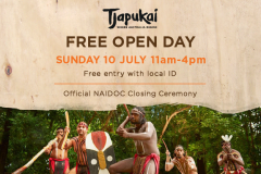 Tjapukai Free Open Day!
