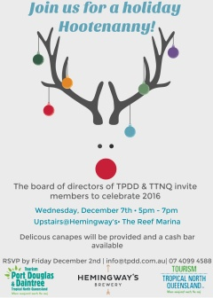 TTNQ & TPDD Christmas networking function