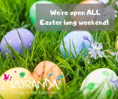we are open ALL through Easter, including Good Friday!