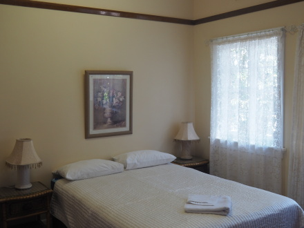 Double Ensuite room with windows to the garden. This is also used as a Single Ensuite room.