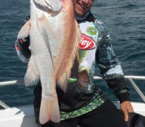 FISH TALES CHARTERS BLUEWATER (REEF) FISHING FOR LARGE MOUTH NANNYGAI.JPG