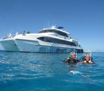 Silverswift takes you to many exclusive dive sites on some of the very best Outer Great Barrier Reef locations at Flynn, Pellowe, Milln and/or Thetford Reefs.