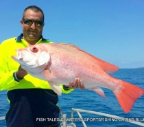 POPPER FISHING ON THE REEF FOR LARGE MOUTH NANNYGAI