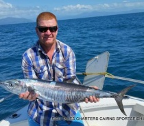REEF FISHING FOR SPANISH MACKEREL