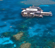 Floating like an island in a Coral Sea, our spacious and modern, dual level platform provides the ultimate in facilities for reef viewing and relaxation in all weather and wind conditions.