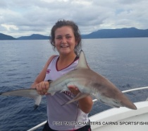 Bluewater (reef) fishing for Black tipped Reef Shark