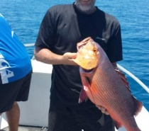 Bluewater (reef) fishing for Red Bass aka Pongo