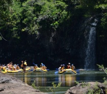 Raging Thunder offers an excellent full day of white water rafting on the Tully River.
